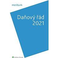 meritum Daňový řád 2021 - Elektronická kniha
