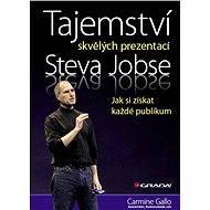 Tajemství skvělých prezentací Steva Jobse - Elektronická kniha