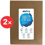 AlzaEco All in 1, 12 v 1 (2 × 140 ks) - Ekologické tablety do umývačky