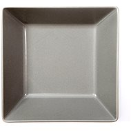 ELITE Tanier hlboký štvorcový 17,5 × 17,5 cm sivý, súprava 6 ks - Tanier