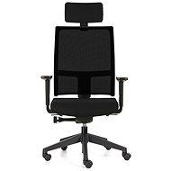 EMAGRA TAU čierna - Kancelárska stolička