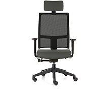 EMAGRA TAU sivá - Kancelárska stolička