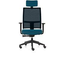 EMAGRA TAU modrá - Kancelárska stolička
