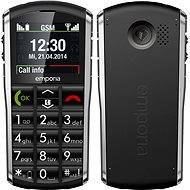 Emporia PURE Grey Black - Mobilný telefón