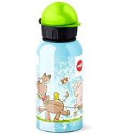 Emsa FLASK 0,4 l Zvieratká - Fľaša na vodu