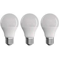 EMOS LED žiarovka Classic A60 9 W E27 teplá biela 3 ks - LED žiarovka