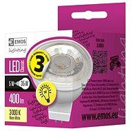 EMOS LED žiarovka Premium MR16 36° 5 W GU5,3 teplá biela - LED žiarovka