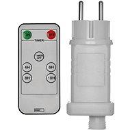 EMOS Napájací zdroj s ďiaľkovým ovládačom pre spojovacie reťaze, až 800 LED - Napájací adaptér