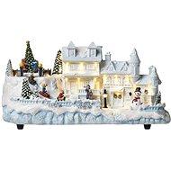 EMOS LED vianočný domček 20 × 38 cm, vnútorný, teplá biela - Vianočné osvetlenie