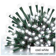 EMOS LED vánoční řetěz, 50 m, venkovní i vnitřní, studená bílá, časovač - Svetelná reťaz