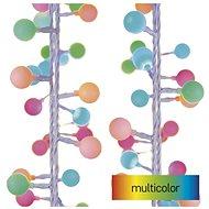 EMOS LED světelný cherry řetěz – kuličky 2,5 cm, 4 m, venkovní i vnitřní, multicolor, časovač - Svetelná reťaz