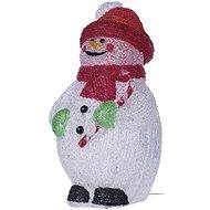 EMOS LED dekorácia - snehuliak, IP44, studená biela, časovač - Vianočné osvetlenie