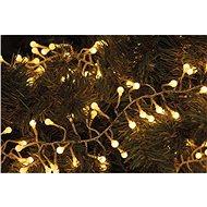 EMOS 288 LED vianočná reťaz – ježko, 2,4 m, teplá biela, časovač - Dekoratívne osvetlenie
