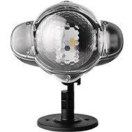 LED dekoratívny projektor – padajúce vločky, vonkajší - Dekoratívne osvetlenie