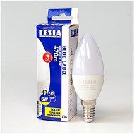 Tesla LED žiarovka sviečka E14 6 W - LED žiarovka
