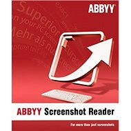 ABBYY Screenshot Reader (elektronická licencia) - Softvér