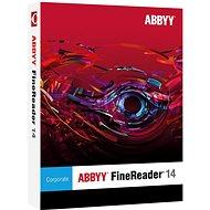 ABBYY FineReader 14 Corporate Upgrade (elektronická licencia) - Softvér OCR