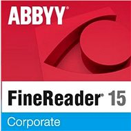 ABBYY FineReader 15 Corporate EDU (elektronická licencia) - Softvér OCR
