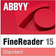 ABBYY FineReader 15 Standard upgrade (elektronická licencia) - Softvér OCR