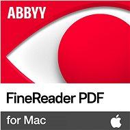 ABBYY FineReader PDF for Mac (elektronická licencia)