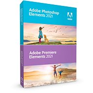 Adobe Photoshop Elements + Premiere Elements 2021 MP WIN/MAC ENG (Electronic License) - Graphics Software