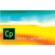 Adobe Captivate 9 MP ENG (elektronická licencia) - Elektronická licencia
