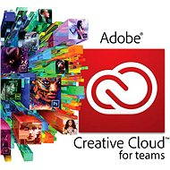Adobe Creative Cloud for teams All Apps MP ENG Commercial (1 mesiac) (elektronická licencia) - Grafický program