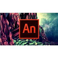 Adobe Animate Creative Cloud (Flash Pro) MP ML (vr. CZ) Commercial (1 mesiac) (elektronická licencia - Grafický program