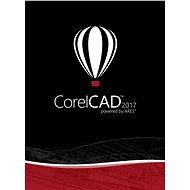 CorelCAD 2017 Upgrade MP pro jednoho uživatele (elektronická licence) - Elektronická licence