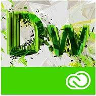 Adobe Dreamweaver Creative Cloud MP ML (vr. CZ) Commercial (1 mesiac) (elektronická licencia) - Elektronická licencia