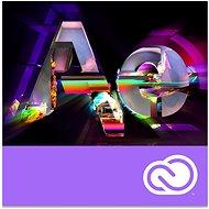 Adobe After Effects Creative Cloud MP team ENG Commercial RENEWAL (12 měsíců) (elektronická licence) - Elektronická licence