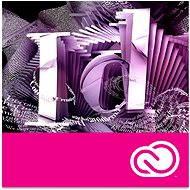 Adobe InDesign Creative Cloud MP ENG Commercial (12 mesiacov) (elektronická licencia) - Elektronická licencia