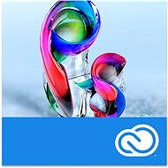 Adobe Photoshop Creative Cloud MP ML (incl. CZ) Commercial (12 Months) RENEWAL (Electronic License) - Graphics Software