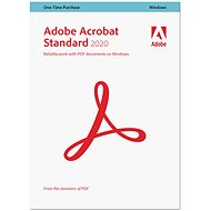 Acrobat Standard 2020 CZ (Electronic License) - Office Software