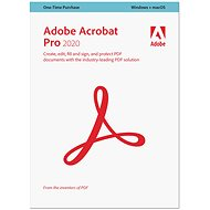Adobe Acrobat Pro WIN/MAC CZ (BOX) - Office Software