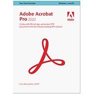Adobe Acrobat Pro WIN/MAC CZ (BOX) - Kancelársky softvér