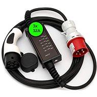 Typ 2(Mennekes) na CEE 5-kolík, 32A 5p – 5m - Nabíjací kábel pre elektromobily