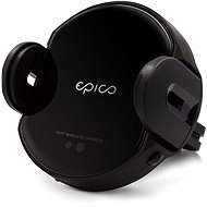 Epico Wireless Charging Sensor Car Holder 10 W/7.5 W/5 W čierny - Držiak