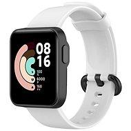 Epico Silicone Strap Xiaomi Mi Watch Lite biely - Remienok