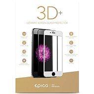 Epico Glass 3D+ pre iPhone 6 Plus/7 Plus biele - Ochranné sklo