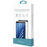 Epico Glass 2.5D pre Nokia 7 Plus čierne - Ochranné sklo