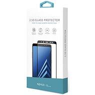 Epico Glass 2.5D pre Sony Xperia XZ2 Compact čierne - Ochranné sklo