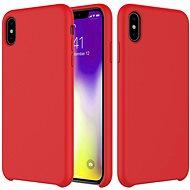 Epico Silicone na iPhone XR – červený - Kryt na mobil
