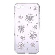 Epico White Snowflakes na iPhone 7/8 - Kryt na mobil