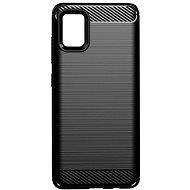 Kryt na mobil EPICO CARBON Samsung Galaxy A51 – čierny - Kryt na mobil