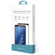 EPICO GLASS 2.5D Samsung Galaxy A9 (2018) – čierne - Ochranné sklo