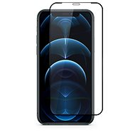 Epico Edge to Edge Glass iPhone 12 / 12 Pro – čierne - Ochranné sklo