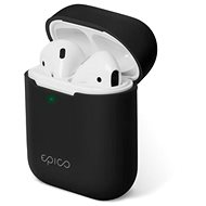 Epico Silicone AirPods Gen 2 – čierne - Puzdro na slúchadlá