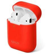Epico Silicone AirPods Gen 2 – červené - Puzdro na slúchadlá