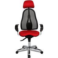 TOPSTAR Sitness 45 červená - Kancelárska stolička